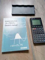 Taschenrechner Casio wissenschaftlicher Grafikrechner
