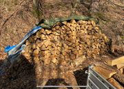 Eichen Brennholz 35cm Scheite trocken