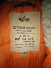 Alpha Industries Winterherren Jacke