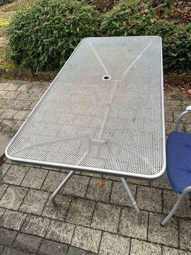 Gartenmöbel - Gartentisch 7 Stühle