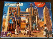Playmobil 4243 Pharaonentempel Originalverpackung komplett