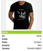 Herren T-Shirt Gr L von