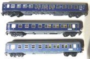 Trix Express H0 Personenwagen 3x