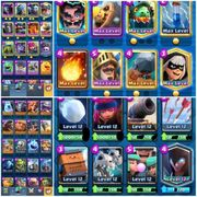 Clash Royale Account 40 Maxed