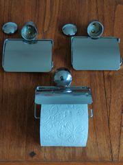 3 Toilettenpapierhalter auch einzeln abzugeben