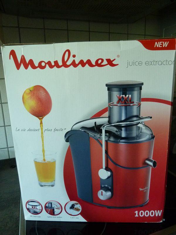 Neuer Moulinex Centivugen Entsafter