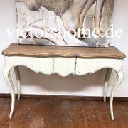 Wandtisch Wandkonsole Schmales Sideboard Hartholz