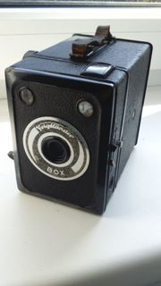 Zabytkowy Aparat Voigtlander BOX 1939