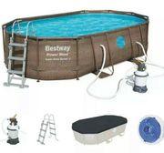 Bestway Pool Power Steel Rattan