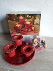 Teelicht Set NEU Weihnachtsdeko