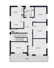 5 Zimmer Wohnung 100 m2