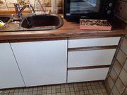 Küche incl Spülbecken