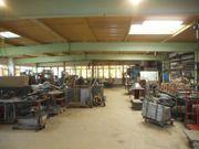 Schlosserei- Holzbearbeitungs Maschinen - kompl Werkstattauflösung -