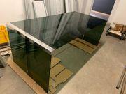 Schreibtisch Glastisch Design echtglas B