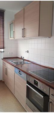 Küchenzeile gut erhalten ohne Geräte