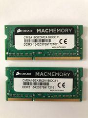 16 GB 2 x 8