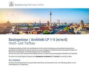 Bauingenieur Architekt LP 1-5 m