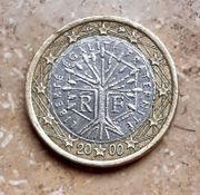 2000 1 - Euro - Frankreich Fehlprägungen
