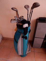 Golfbag mit Komplettschlägersatz DAIWA