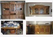 Wohnungsauflösung Schrank Sideboard Hängeschrank Tisch