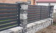 SchmiedeeisenZaun aus Polen Metalltreppen zum