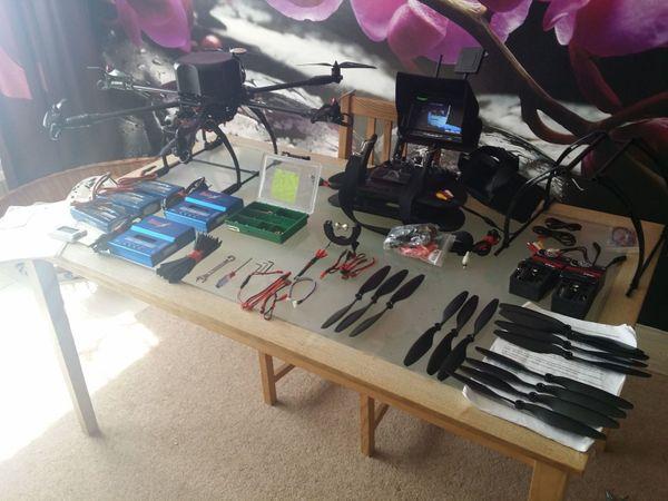 Hexacopter Komplete set
