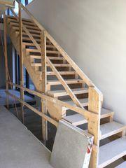 Treppe Stiege Bautreppe Baustiege Bau
