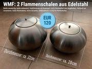 2 WMF Feuerschalen