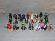 24 Ninjago Minifiguren Schlangen Skales
