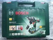 Bosch Lithium Ionen Akku Schlagbohrschrauber