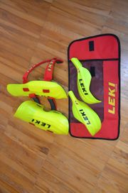 Slalomschützer Leki-Stöcke