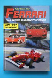 Ferrari - Alle Serien- und Rennfahrzeuge