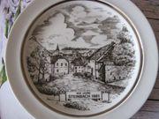 BAVARIA-Sammelteller-Wandteller-Heimatteller Steinbach Ottweiler - Saarland