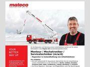 Monteur Mechatroniker Servicetechniker m w
