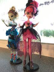 2 Monster High Puppen
