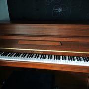 Klavier Nußbaum fast wie neu