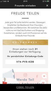 BestSecret Einladungscode Goldmember