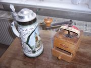 Holzkaffeemühle Bierseidel