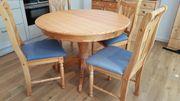 Verschenke Esstisch 2 Stühle