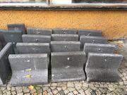 Biete Winkelstützen L-Steine aus Beton