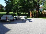 Stellplätze in Lauterach neben Privathaus