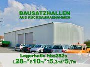 Rückbau- Stahlhalle L28 x B10