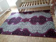 lila teppich