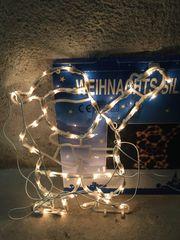 Weihnachtsbeleuchtung 2 x Nikolaus