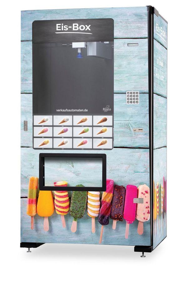 Premium Eisautomat Tiefkühlautomat - Neu