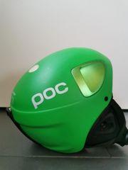 poc Snowboardhelm grün