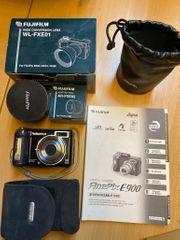 Digitalkamera Fuji FinePix E900 Weitwinkelobjektiv