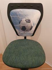 Drehstuhl Kinderstuhl Fussball höhenverstellbar