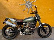 Geniales Motorrad Scrambler DirtTrack Einzelstück