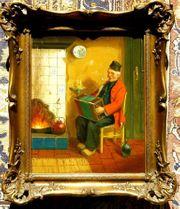 Gemälde Hans Fenger 1893-1980 B071